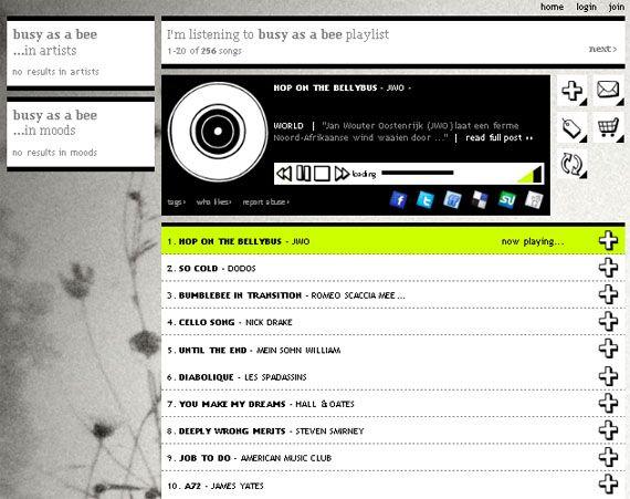 stereomood - онлайн радио