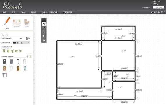 нарисовать план здания онлайн