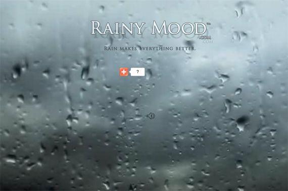 шум дождя онлайн