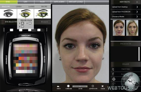 Программа для изменения внешности на фото онлайн