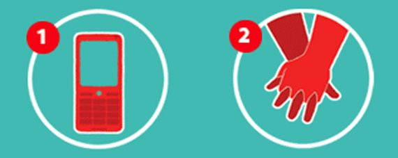 Два шага для спасения жизни