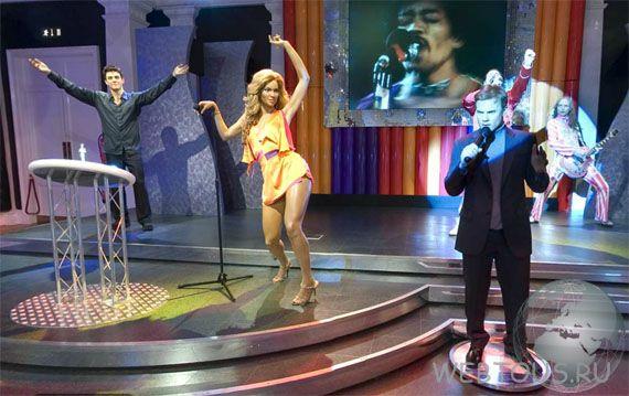 фигуры знаменитых певцов