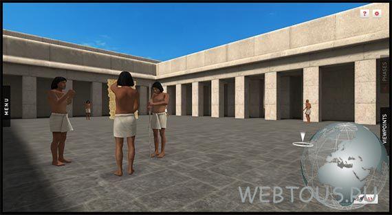 прогулка по древнему Египту