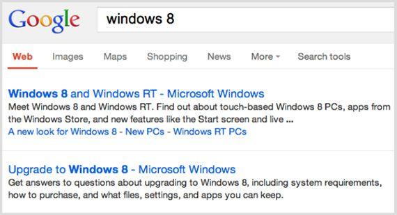 новый вид поисковой выдачи Google