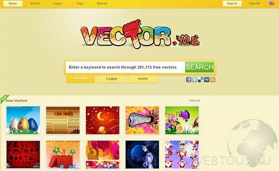 сервис поиска векторной графики