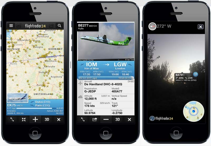 flightradar24 mobile