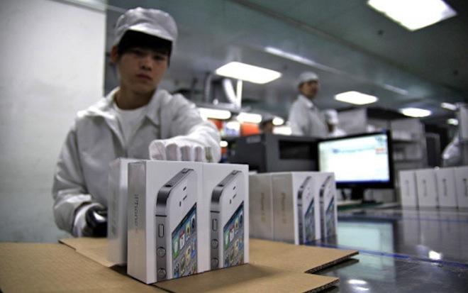 iphone производство
