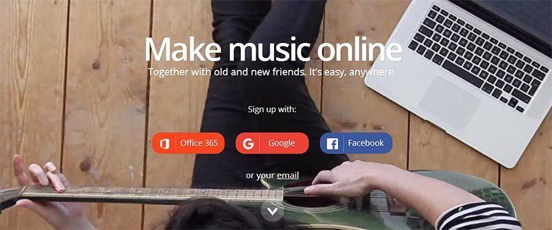 сервис создания музыки