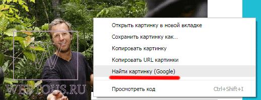 опция поиска в браузере хром
