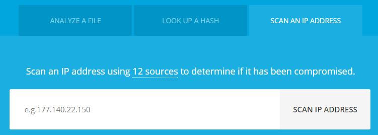 проверка IP на вирусы