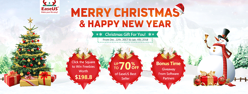easeus christmas campaign