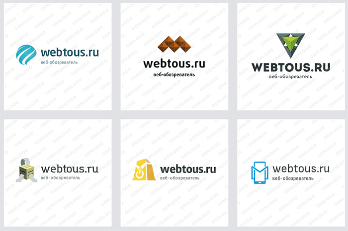 варианты оформления логотипа