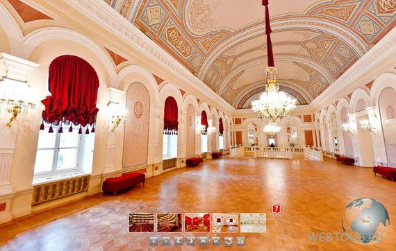 Большой театр, белое фойе