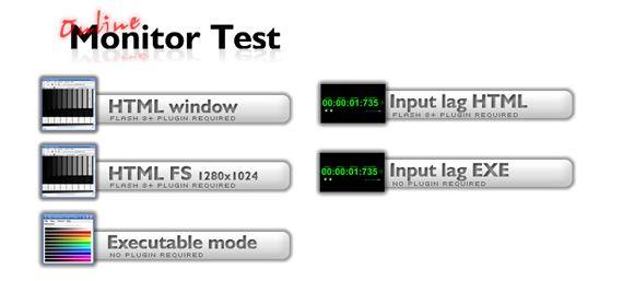 online monitor test