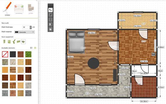 roomle - сервис для создания плана квартиры