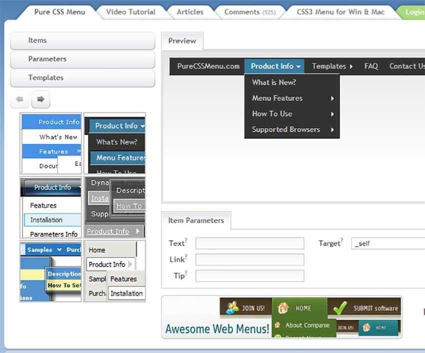 Создание меню на сайте css северная компания рязань строительная компания официальный сайт