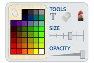 панель инструментов рисования