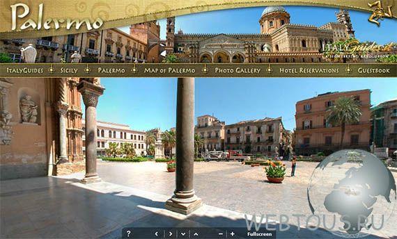 3d-панорамы городов Италии