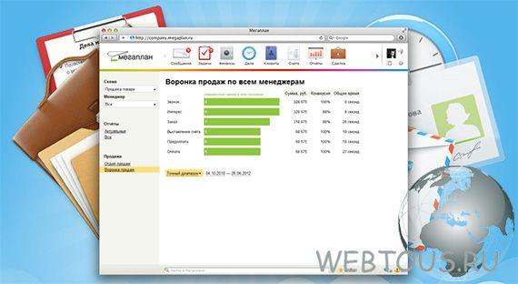 CRM система онлайн