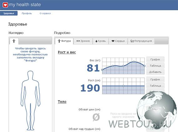 контроль физического состояния онлайн