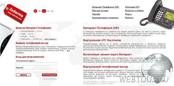сервис ip-телефонии