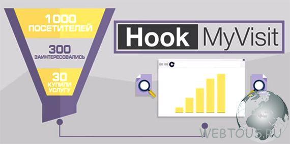 увеличение конверсии с hookmyvisit