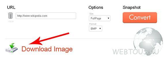 как сделать скриншот сайта