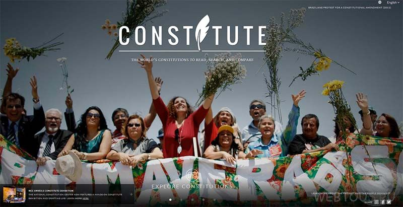 сайт конституций
