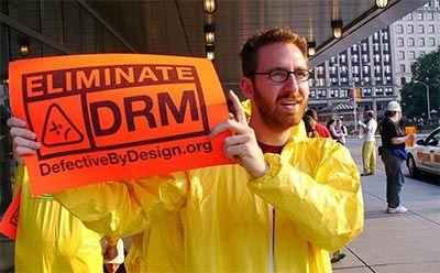 протест против drm