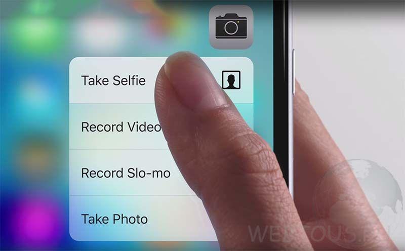 iphone 6s опции камеры
