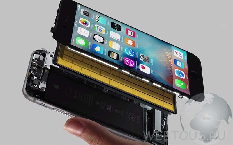 iphone 6s разборка