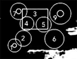 обозначение тарелок и барабанов на установке