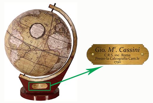 глобус Кассини