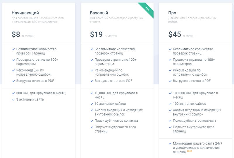 стоимость проведения анализа сайта