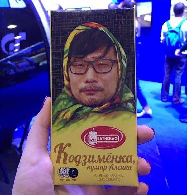 шоколадка Кодзименка на Игромире 2019
