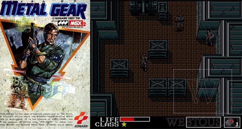 первая игра серии Metal Gear (1987)