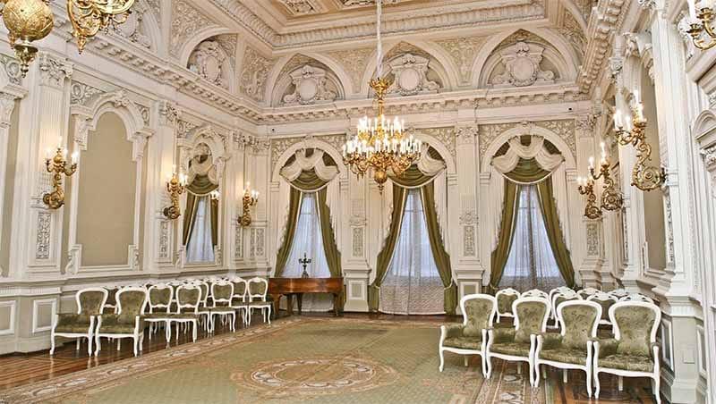 интерьер дворца бракосочетаний