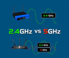 2,4 vs 5 ghz